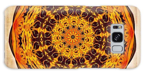 Ancient Sun Kaleidoscope Galaxy Case