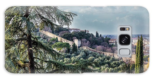 Ancient Walls Of Florence Galaxy Case by Sonny Marcyan
