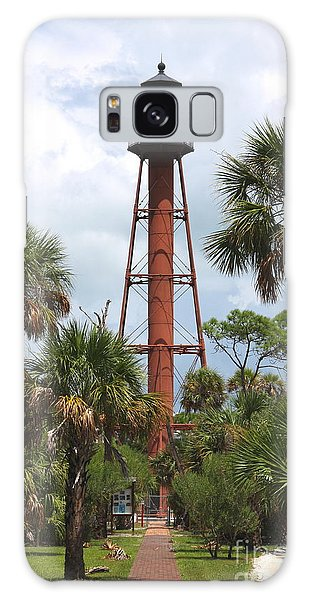 Anclote Key Lighthouse Galaxy Case