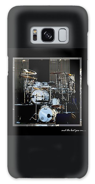 Drum Galaxy Case - And The Beat Goes On.... by Holly Kempe