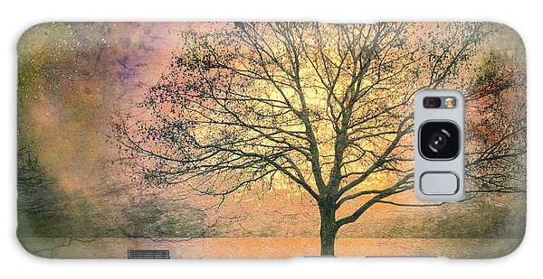 Tree Galaxy Case - And The Morning Is Perfect In All Her Measured Wrinkles by Tara Turner