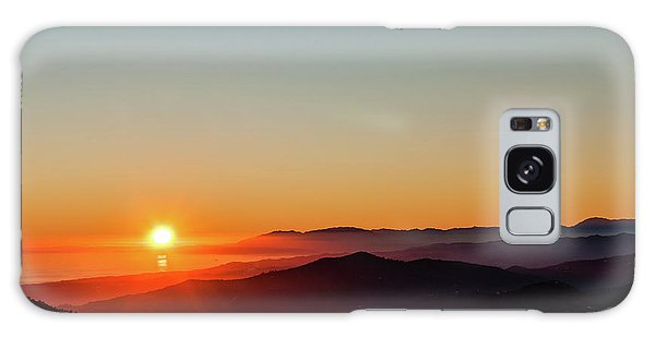 Andalucian Sunset Galaxy Case