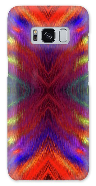 Galaxy Case featuring the digital art Andee Design Abstract 1 2015 by Andee Design