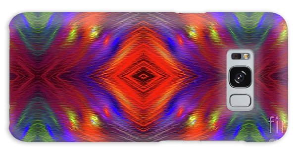 Galaxy Case featuring the digital art Andee Design Abstract 3 2015 by Andee Design