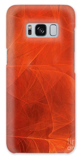 Galaxy Case featuring the digital art Andee Design Abstract 54 2017 by Andee Design