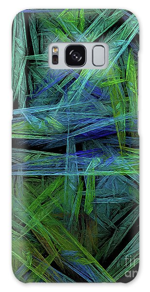 Galaxy Case featuring the digital art Andee Design Abstract 61 2017 by Andee Design
