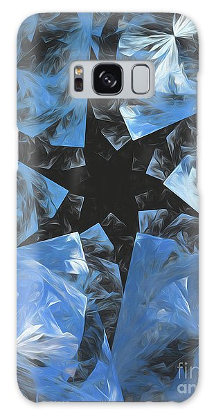 Galaxy Case featuring the digital art Andee Design Abstract 71 2017 by Andee Design