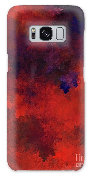 Galaxy Case featuring the digital art Andee Design Abstract 73 2017 by Andee Design