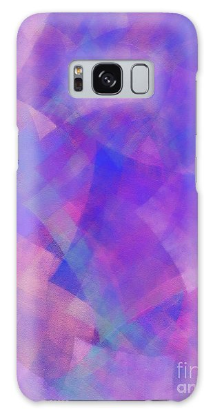 Galaxy Case featuring the digital art Andee Design Abstract 75 2017 by Andee Design
