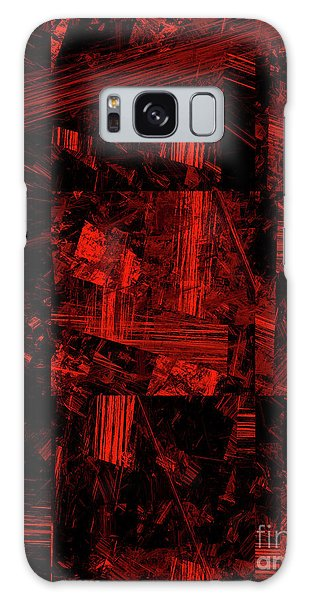Galaxy Case featuring the digital art Andee Design Abstract 80 2017 by Andee Design