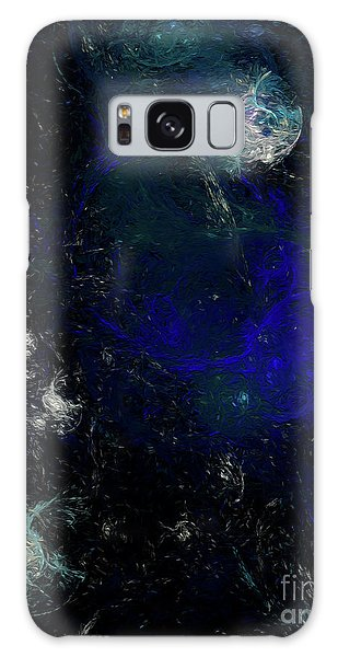 Galaxy Case featuring the digital art Andee Design Abstract 81 2017 by Andee Design