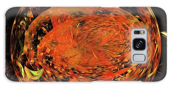 Galaxy Case featuring the digital art Andee Design Abstract 82 2017 by Andee Design