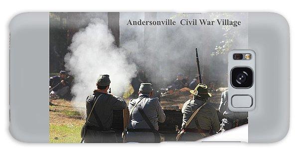 Andersonville Civil War Village Galaxy Case