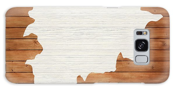Traveler Galaxy Case - Andorra Rustic Map On Wood by Dan Sproul