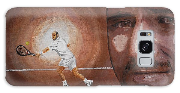 Andre Agassi Galaxy Case by Quwatha Valentine