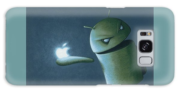 Outer Space Galaxy Case - Android Vs Apple by Jasper Oostland