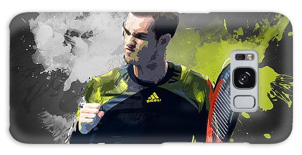 Andy Murray Galaxy Case by Semih Yurdabak