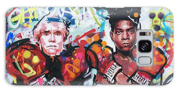 Andy Warhol And Jean-michel Basquiat Galaxy Case
