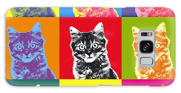 Andy Warhol Cat Galaxy Case