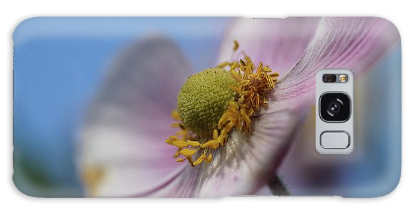 Anemone Tomentosa Close Up Galaxy Case