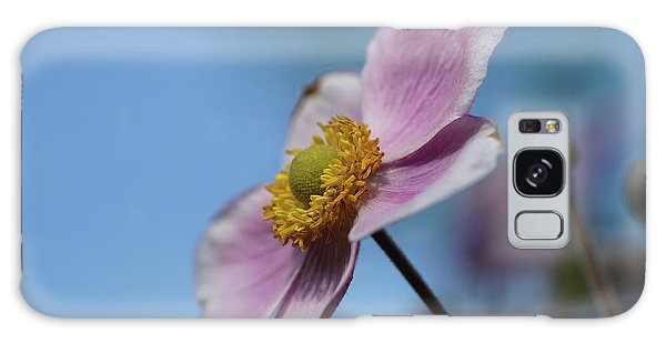 Anemone Tomentosa Flower Galaxy Case