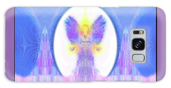 Galaxy Case featuring the digital art Angel #200 by Barbara Tristan