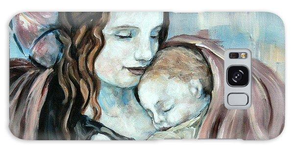 Angel And Baby No. 5 Galaxy Case