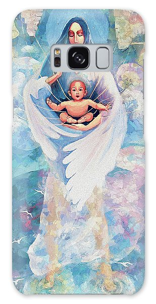 Angel Blessing Galaxy Case