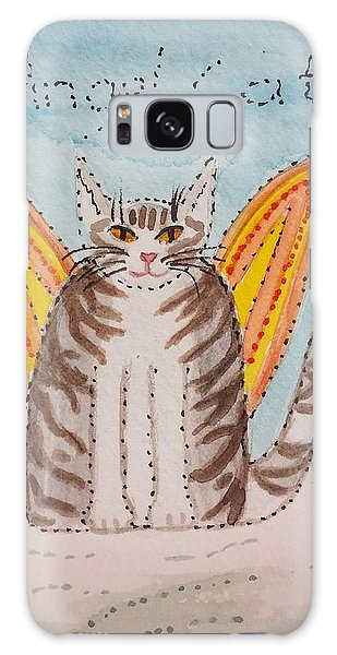Angel Cat Galaxy Case