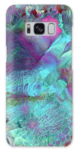 Angel Daphne Flowers #2 Galaxy Case
