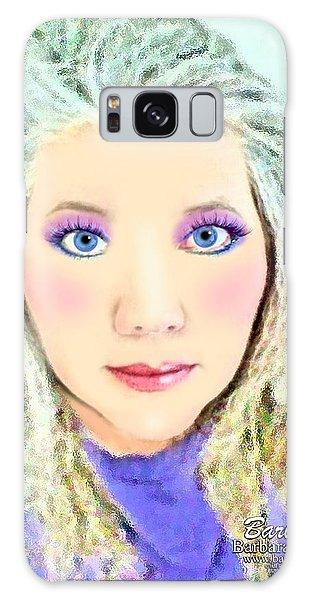 Angel Eyes Galaxy Case by Barbara Tristan