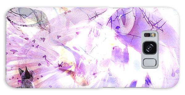 Angel Eyes Galaxy Case