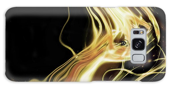Angel Eyes Galaxy Case by Pennie  McCracken