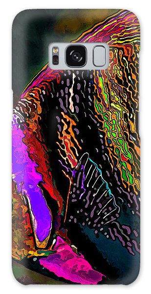 Angel Face 2 Galaxy Case by ABeautifulSky Photography