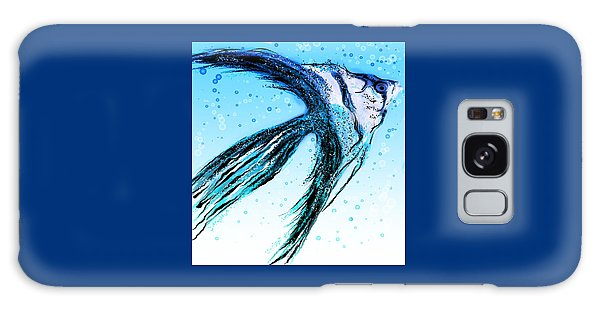 Angel Fish Art Galaxy Case