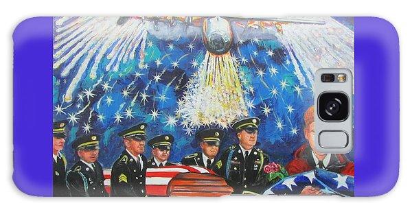 Angel Flight Galaxy Case by Ken Pridgeon
