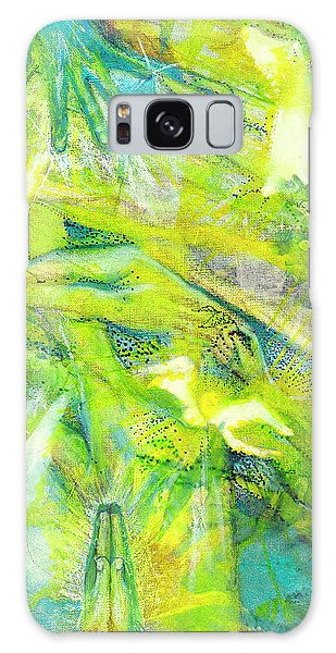 Galaxy Case featuring the painting Angel Forest by Kym Nicolas