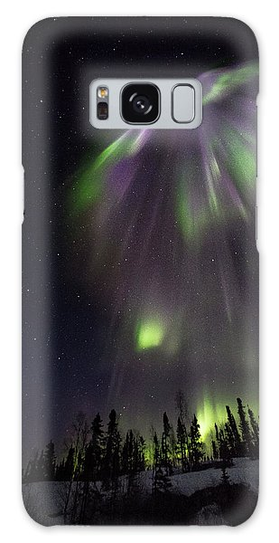 Angel In The Night Galaxy Case