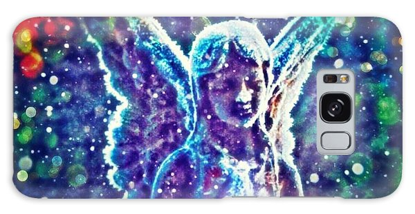 Angel In The Snow Galaxy Case