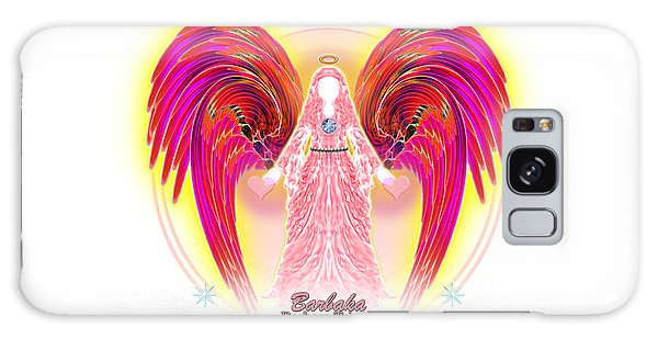 Angel Intentions Divine Timing Galaxy Case by Barbara Tristan