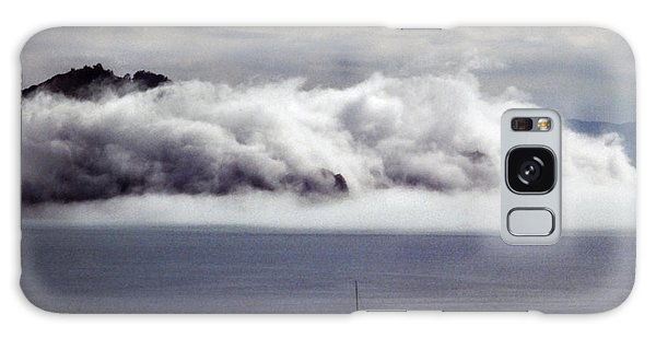 Galaxy Case featuring the photograph Angel Island Fog by Frank DiMarco