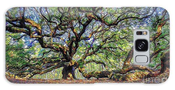 Angel Oak In Digital Oils Galaxy Case