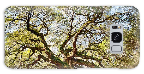 Angel Oak In Spring Galaxy Case