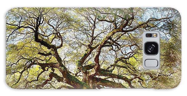 Angel Oak In Spring Galaxy Case
