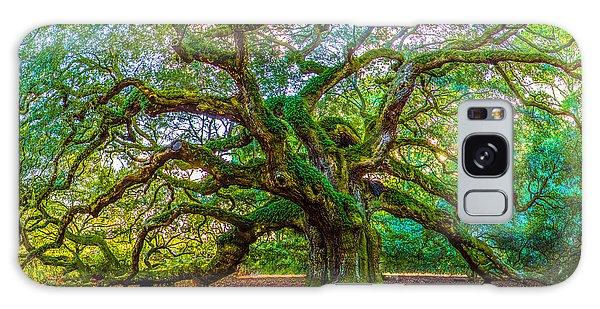 Angel Oak Tree Charleston Sc Galaxy Case