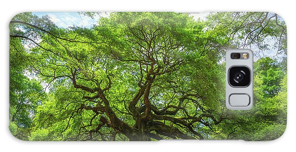 Angel Oak Tree In South Carolina  Galaxy Case