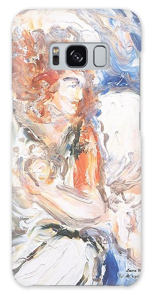 Angel Of Courage Galaxy Case