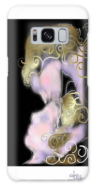Angel Of Death Kiss Galaxy Case