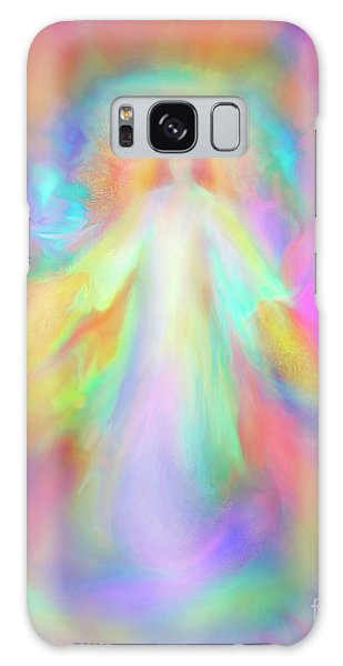 Angel Of Forgiveness And Compassion Galaxy Case