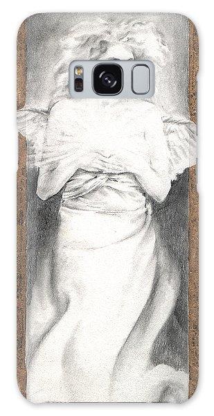 Angel Of Light Galaxy Case by Ragen Mendenhall